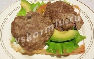 Рецепт полезного бутерброда для мамы при гв