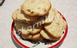 Можно ли кормящей маме есть овсяное печенье с изюмом?