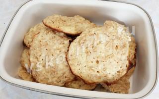 Как приготовить творожное печенье для кормящей мамы?