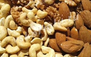 Какие орехи можно при грудном вскармливании в первый, второй и последующие месяца?