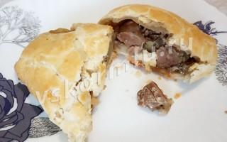 Рецепт пирожков с печенью для кормящих мам