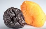 Когда можно кушать чернослив и курагу при грудном вскармливании?