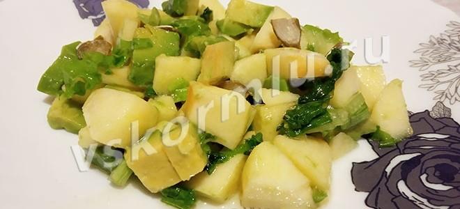 Рецепт салата, который можно есть при грудном вскармливании с пошаговыми фото