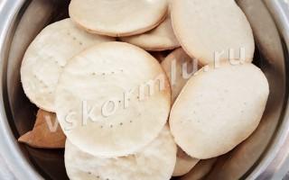 Печенье затяжное Мария, которое можно есть при ГВ