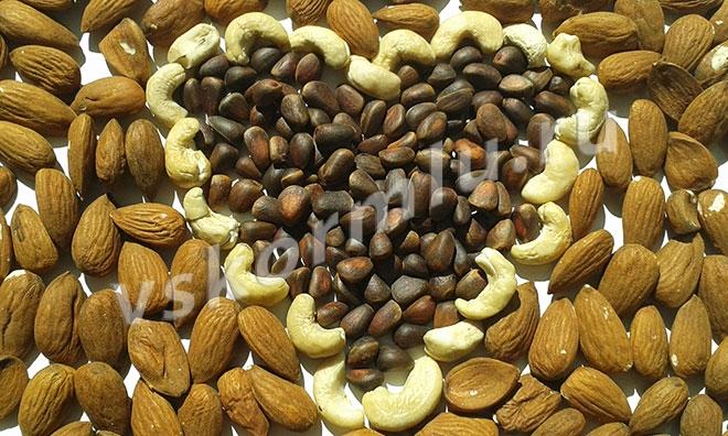 Орехи кормящей матери польза или вред