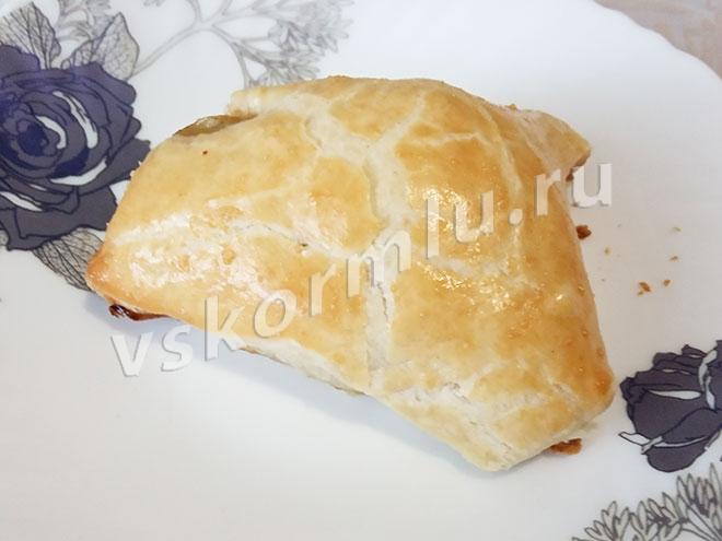 Пирожок с печенью
