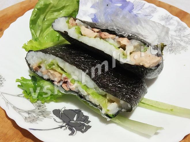 Суши-бутерброд