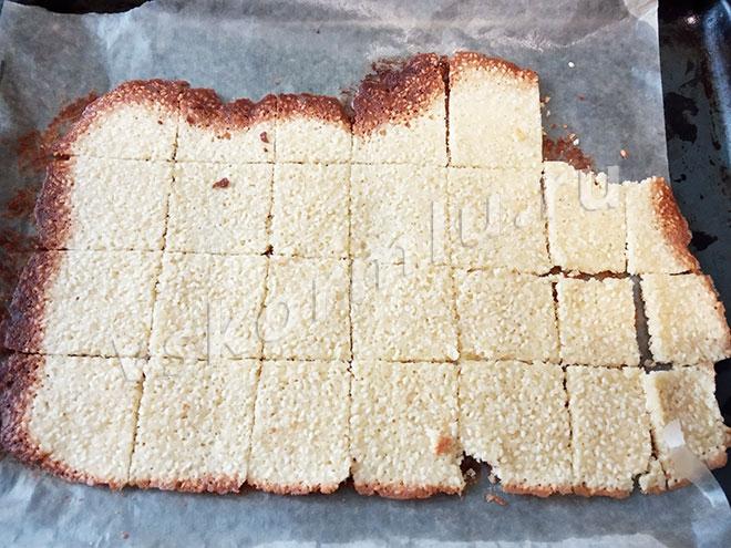 Несмотря на то, что печенье с краев подгорело, вкус меня очень порадовал