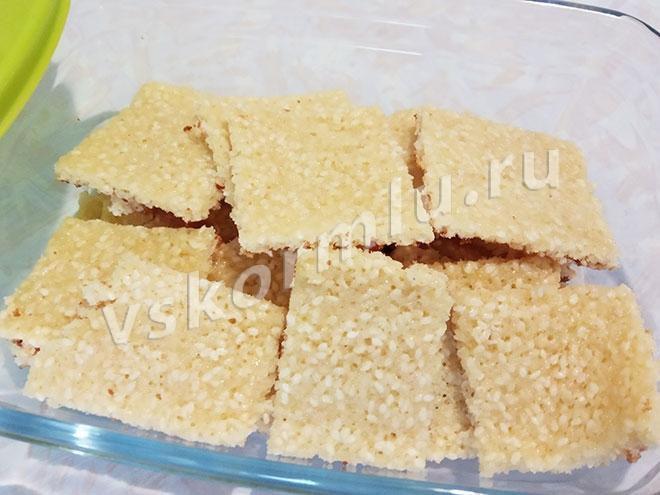 Сладкое кунжутное печенье для кормящей мамы