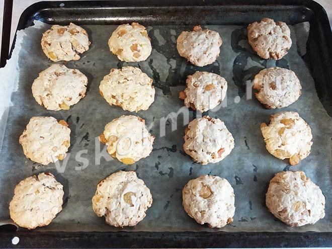 Печенье овсяное на фруктозе для кормящей мамы готово! Приятного аппетита