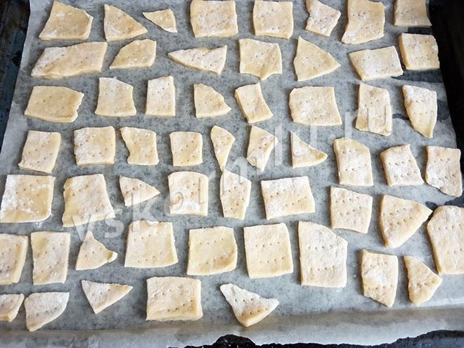 Печенье готово к выпечке