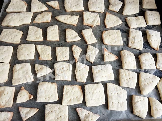 Печенье галетное Мария к употреблению готово, приятного аппетита