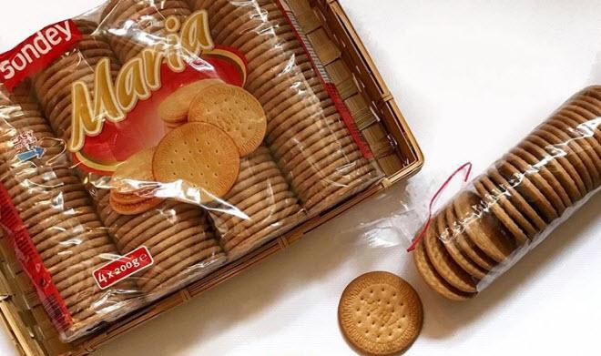 Печенье Мария разрешено есть при грудном вскармливании с роддома при условии, что оно содержит только натуральные компоненты