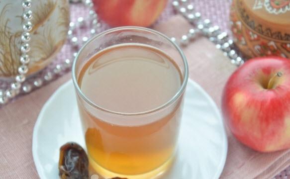 компот из фиников и яблок