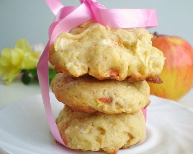 Ароматное и простое в приготовлении печенье Яблочко для мамы при грудном вскармливании