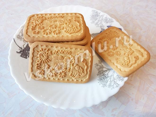 Печенье Топленое молоко при грудном вскармливании можно есть не раньше, чем ребенку исполнится 3 месяца