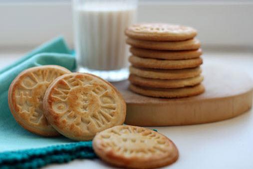 Печенье Топленое молоко домашнего приготовления для мамы при грудном вскармливании