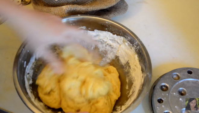 Тесто мягкое и жирное