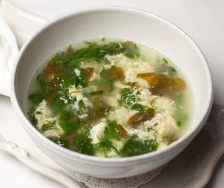 Щавелевый суп для кормящей мамы
