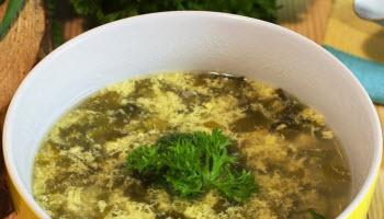 Суп со щавелем для мамы при грудном вскармливании